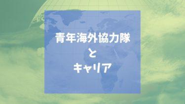 【青年海外協力隊】その後の就職に:開発コンサルタントへの転職に必要なスキルとは?