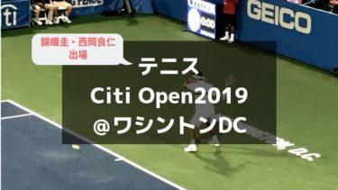 【ワシントンDCテニス】シティ・オープン:2019年大会レビュー