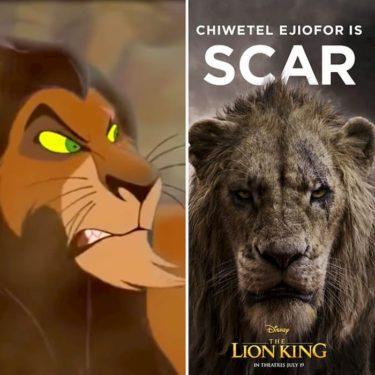 【アニメと比較】実写版ライオンキング:スカーに着目